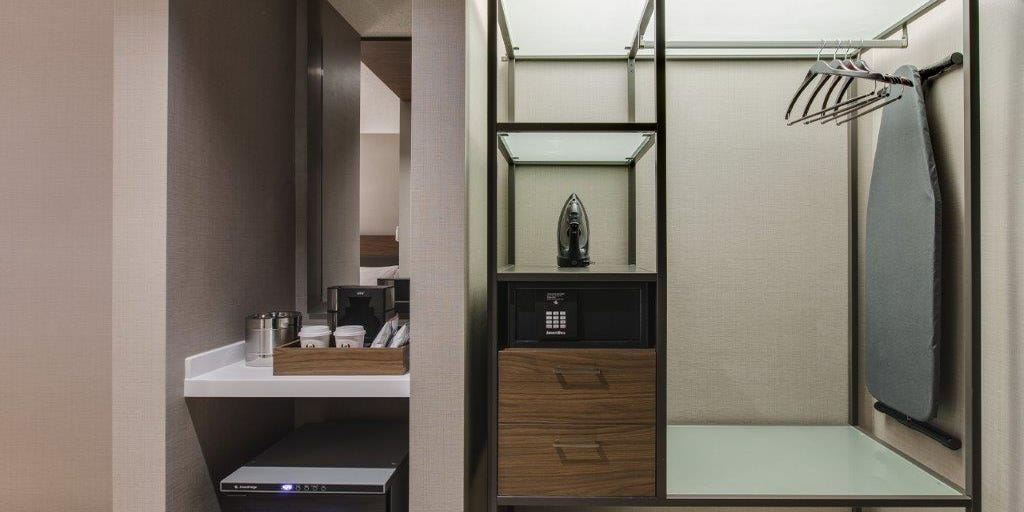 Hotels Get Rid Of Closets Add Other Storage Solutions
