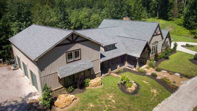 1644 Hunsaker Road in Boonville is a 5 bedroom 3 full and 3 half-bathroom hunter/fisherman's dream, sitting on 41 acres of property with lakefront views.