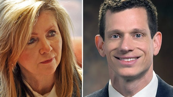 Rep. Marsha Buackburn, R-Tenn., and Nashville lawyer James Mackler, a Democrat, are the only declared candidates as early October 2017 for the seat of Sen. Bob Corker, R-Tenn., who said he's retiring.