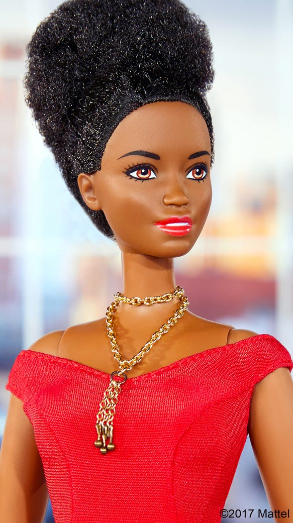 Barbie got a makeover from Christian Siriano, with