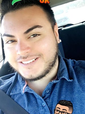 Angel Machado, 29, enjoyed taking selfies. He posted this one to Snapchat shortly before he died. Machado was a victim of homicide. His body was found by deputies early Friday morning.