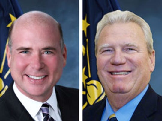 Brian Bosma (left) and Eric Turner.