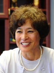 Public Auditor Doris Flores Brooks is photographed,