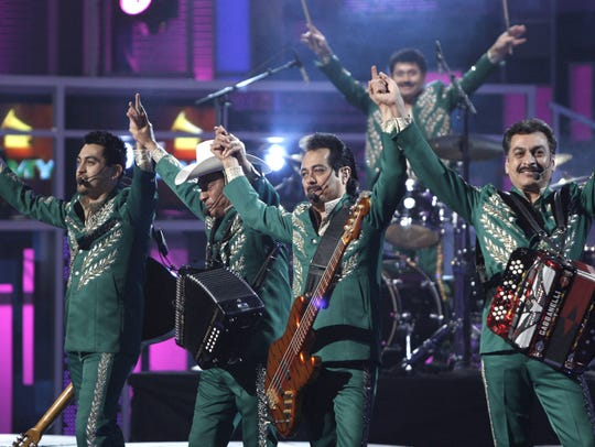 Grammy Award-winning band Los Tigres del Norte will