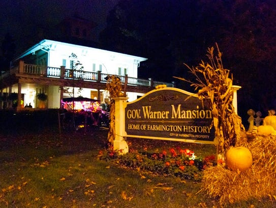 Ghost Night is set for the Gov. Warner Mansion.