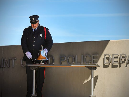 The city of St. Cloud will hold a ceremony at 5 p.m. Tuesday at the St. Cloud Police Department honoring those who died in the 9/11 terrorist attacks as well as all victims of the war on terror and all first responders.