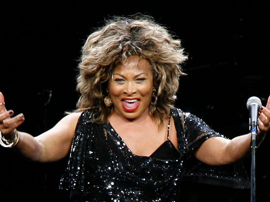 Singer Tina Turner performs in a concert Jan. 14, 2009, in Cologne, Germany.