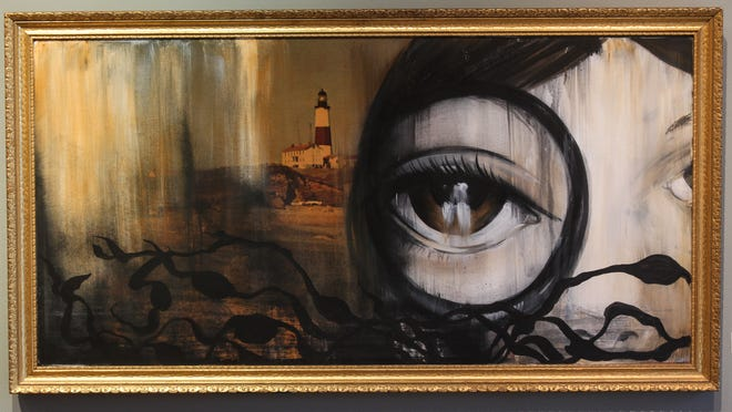 An untitled piece by Porkchop of Asbury Park can be seen at Art 629 in Asbury Park.