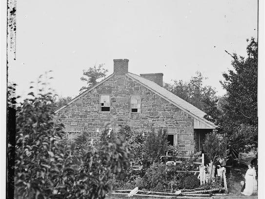 Gen. Robert E. Lee's headquarters at Gettysburg.