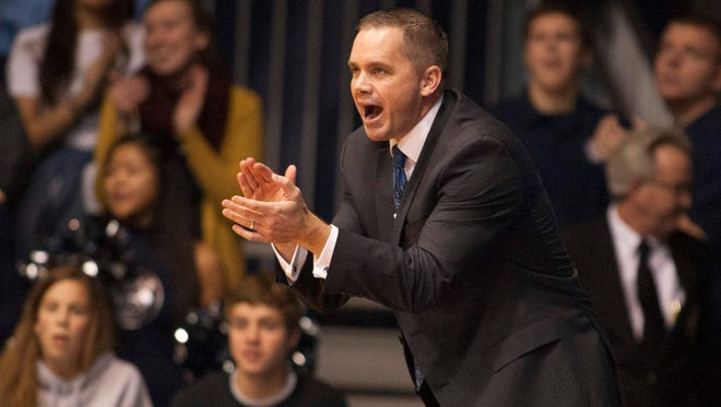 Coach Chris Holtmann left a head coaching position to be a Butler assistant. But unexpected circumstances have left him in charge again.