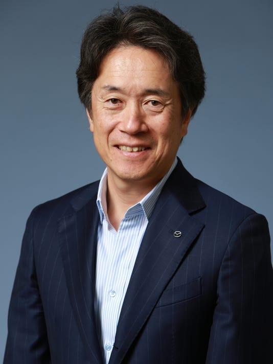 Mazda CEO Masahiro Moro