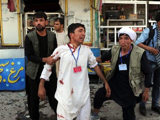 EPA AFGHANISTAN BOMB BLAST WAR CONFLICTS (GENERAL) AFG