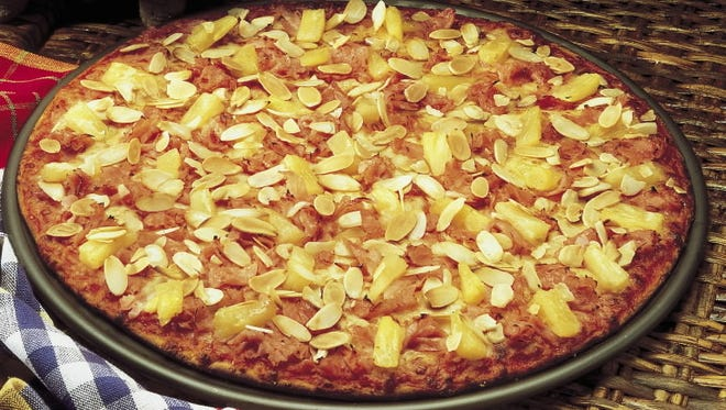 The world's most controversial pizza.