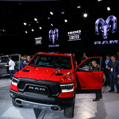 The 2019 Ram 1500 Rebel is revealed at the 2018 North