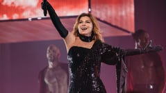 Shania Twain played Bridgestone Arena July 22, 2018.