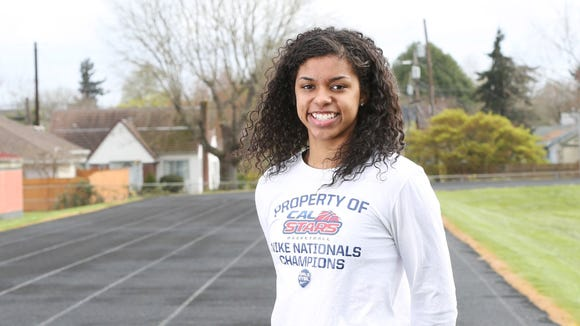 South Salem basketball player Evina Westbrook was named third-team MaxPreps All-American.