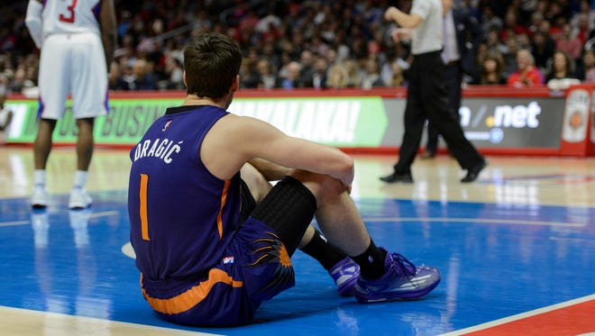 Suns guard Goran Dragic is not happy with team management.