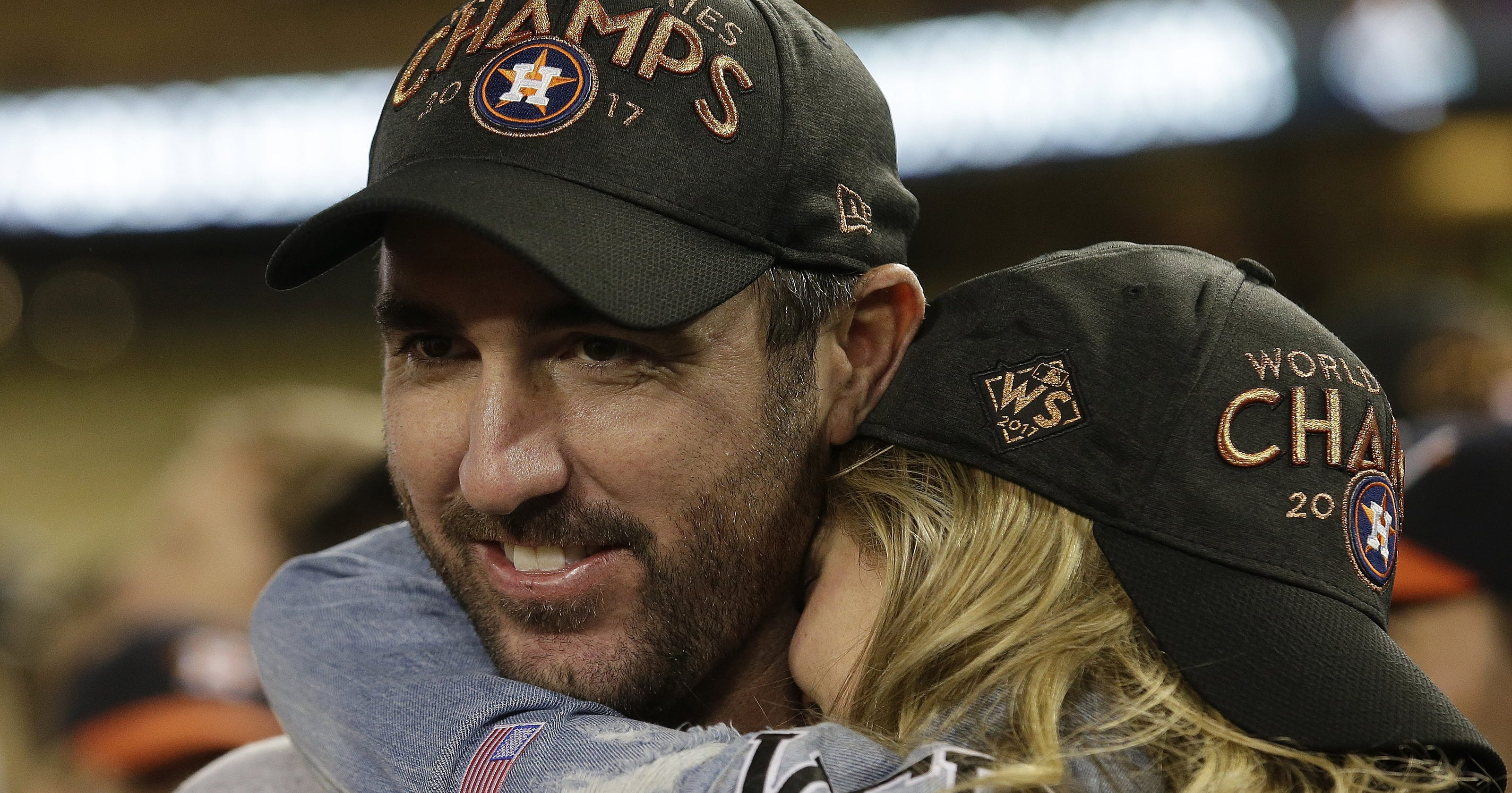 6588818814b Justin Verlander wins World Series with Detroit still close to his heart