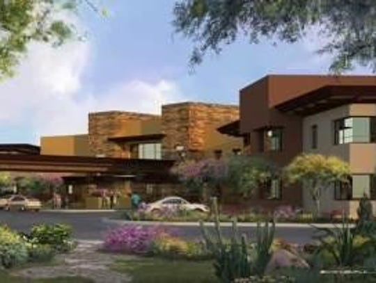 A rendering of Treasure House, a home for young adults