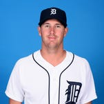 Pitcher Warwick Saupold was called up by the Tigers on Friday, May 13, 2016.