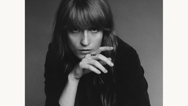 Florence + the Machine is No. 1 in Newark this week.