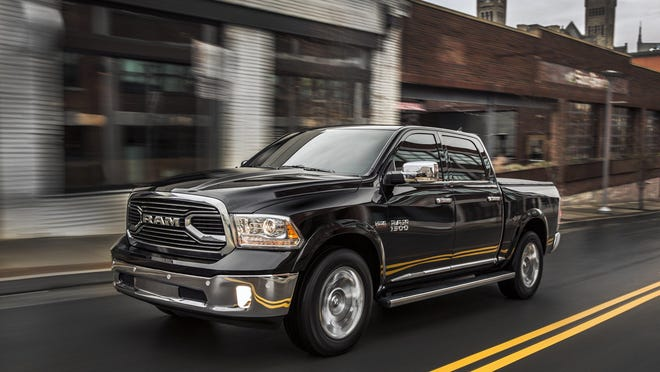 2015 Ram 1500 Laramie Limited Crew Cab 4x4. The starting price for the Limited is $50,675.