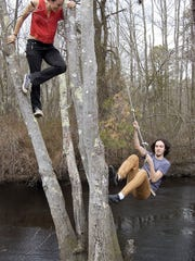 You can rope swing into a Hammonton stream at this year's Beardfest.
