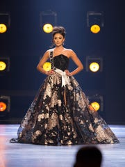 Kristen Leyva, Miss New Mexico USA 2018, competes on