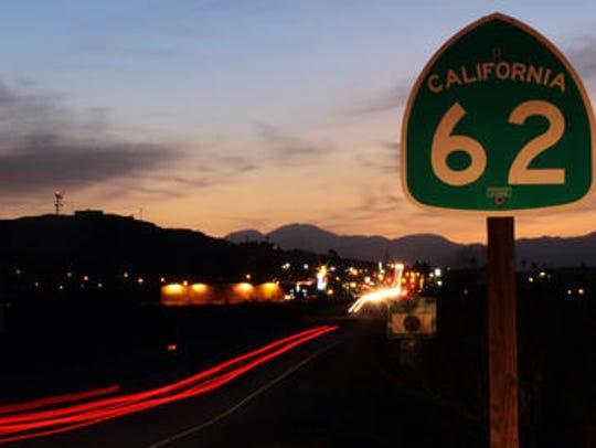 Highway 62.