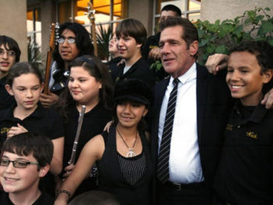 Glenn Frey donated and helped raise thousands of dollars for the Boys and Girls Club of Coachella Valley.