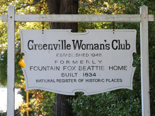 The Beattie House was home to the Greenville Woman's