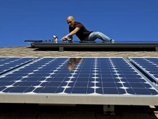 Solar jobs are growing in Florida a recent study shows.
