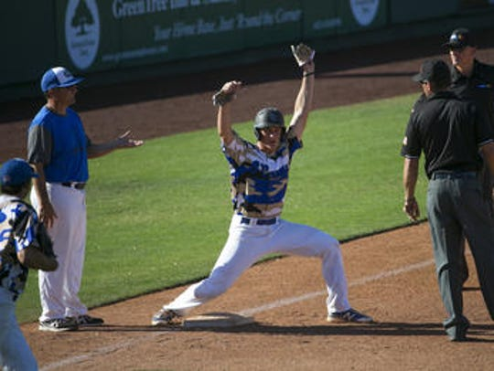 Sandra Day O'Connor junior Nolan Gorman hit four home