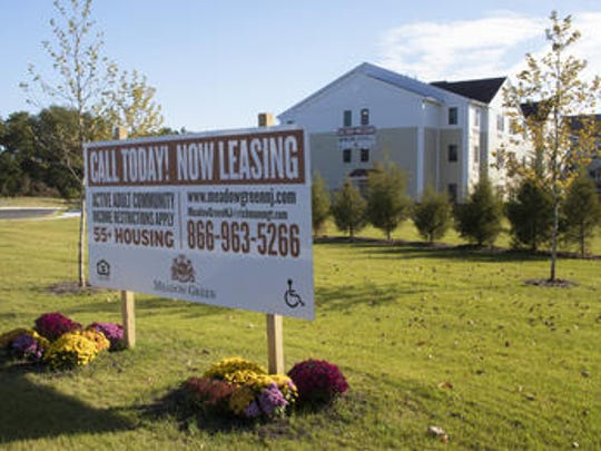 Meadow Green housing development in Toms River.