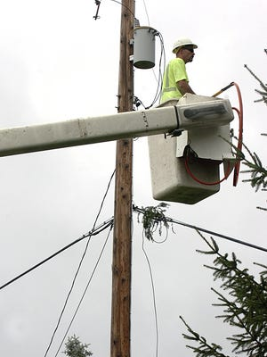 More than 4,000 Consumers Energy customers in Ingham and Eaton counties were affected by a power outage on Monday, Dec. 23. 2019.