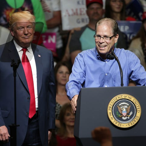 Trump touts Mike Braun's business credentials after Chamber opts not to endorse him