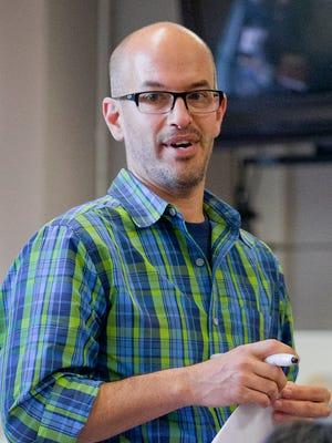 Paul Wiech teaches a ninth-grade earth science class at Dryden High School. Wiech is  a New York State Master Teacher.