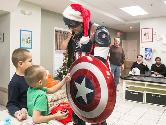 Central PA Avengers Gift Giving