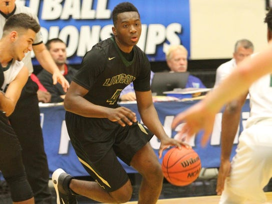 Lincoln's Trinton Bryant hit three 3-pointers during