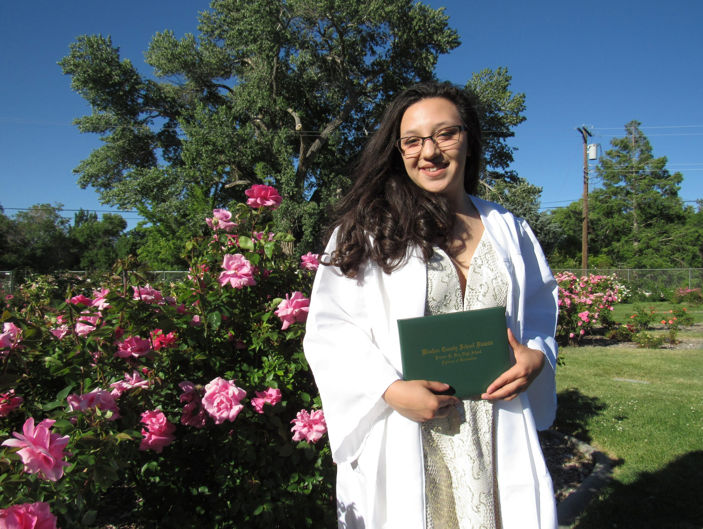 Jocelyn Najera will graduate from Hug High School as