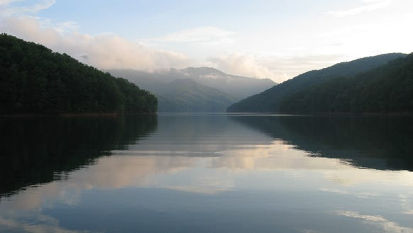 A calm Fontana Lake is seen in this 2014 file photo.