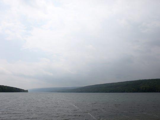 Hemlock Lake.