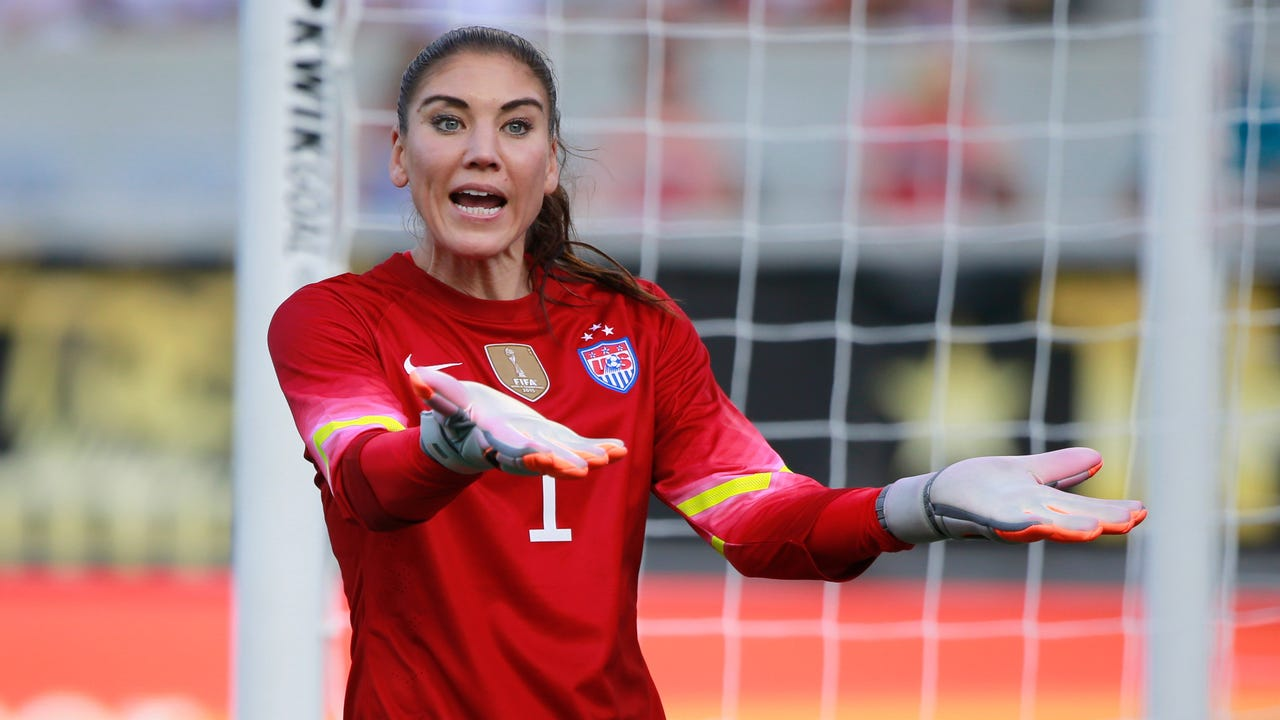 """After Hope Solo voiced concerns about attending the Olympics amid the Zika outbreak in South America, former Brazilian star Aline Pellegrino said her national team """"will not be very sad"""" if Solo decides to stay home this summer."""