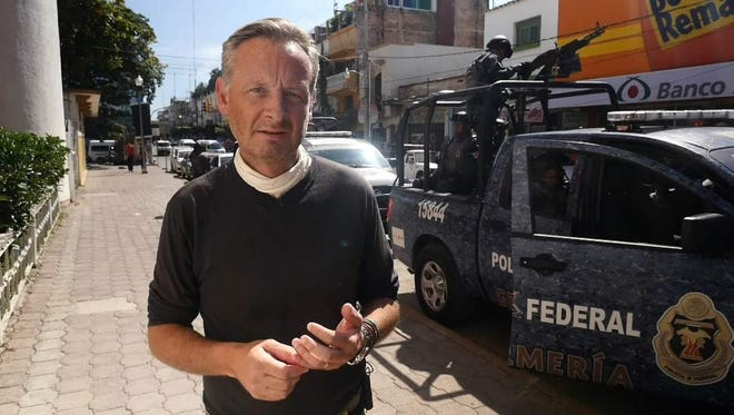 Stuart Ramsay, Sky News' Chief Correspondent, in Mexico.