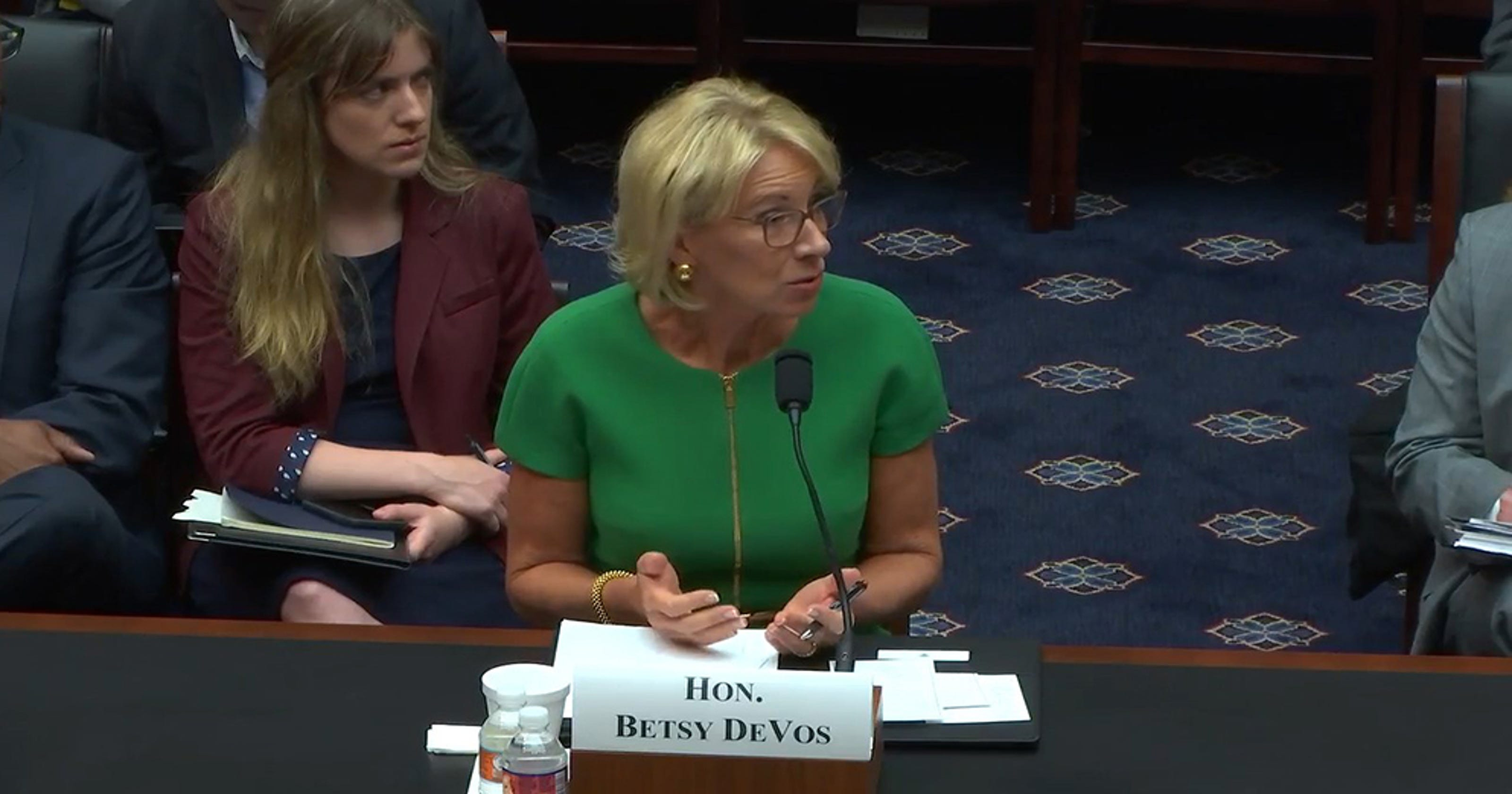 Advocates Demand Devos Protect Students >> Critics Ask Betsy Devos To Retract Undocumented Students Remark