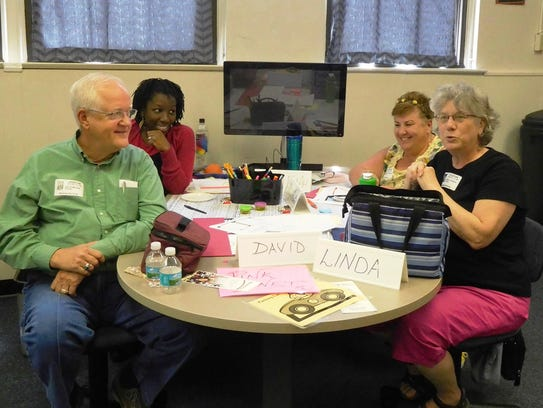Local art teachers share instructional strategies during
