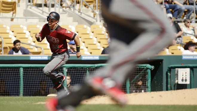 In his first full season in the big leagues, Jake Lamb showed off some real power by belting 29 home runs with 31 doubles and 91 RBIs.