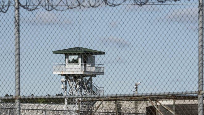 This shows the Lee Correctional Institution on April 16, 2018, in Bishopville, S.C.