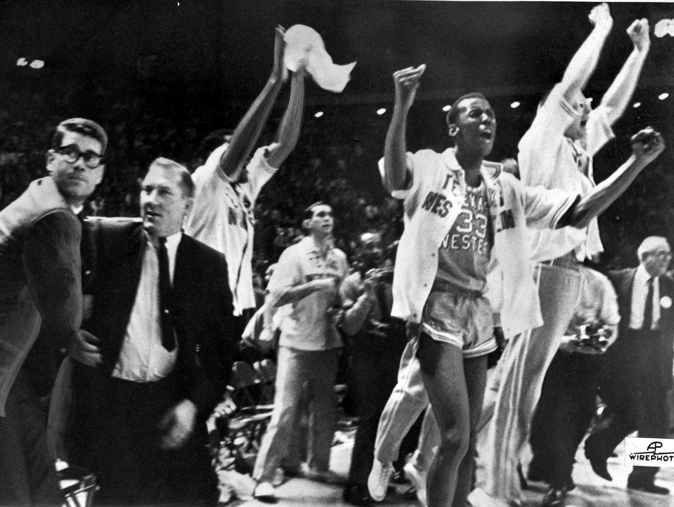 In this March 19, 1966, file photo, Texas Western basketball
