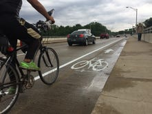 Bangert: Matter of inches for Harrison Bridge cyclists
